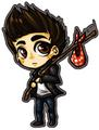 Jeremy leaving Mystic Falls :( - jeremy-gilbert fan art