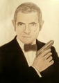 Johnny English drawing - mr-bean fan art