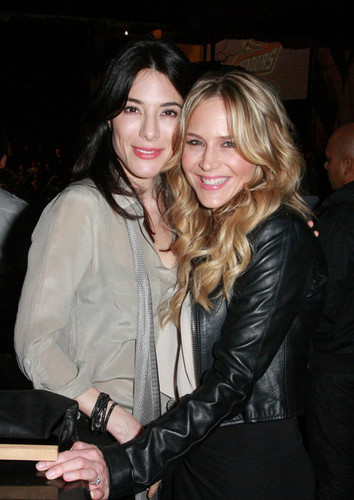Julie Benz and Others at the Music Box (December 2011)