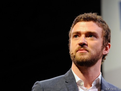 Justin Timberlake images Justin Timberlake Sports A Beard At Consumer Electronics Show HD wallpaper and background photos