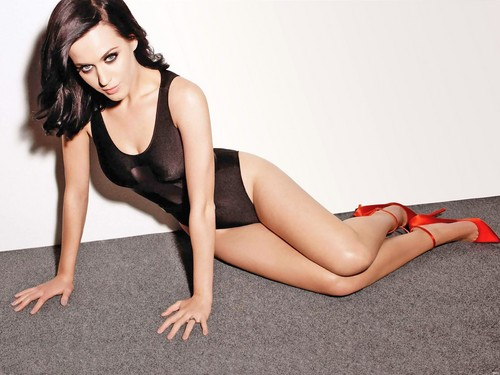 katy perry wallpaper with a maillot, a leotard, and a pakaian renang, baju renang called Katy