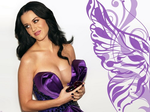 Katy Perry wolpeyper containing a bustier titled Katy