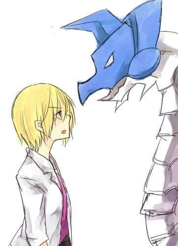 Kiriha and MailBirdramon
