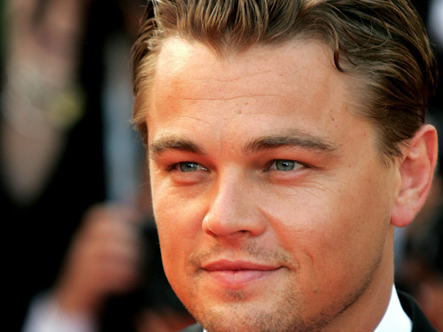 Leonardo DiCaprio wallpaper possibly containing a business suit and a portrait entitled Leonardo Dicaprio