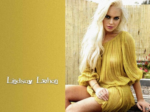 Lindsay Lohan wallpaper possibly containing a portrait titled Lindsay Lohan