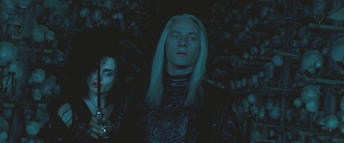 Lucius Malfoy and Bellatrix Lestrange
