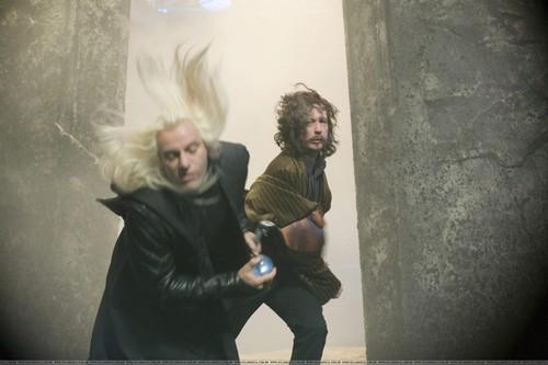 Lucius Malfoy and Sirius Black