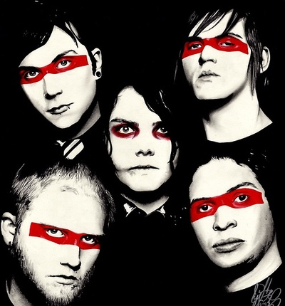 My Chemical Romance Hintergrund called MCR ☆