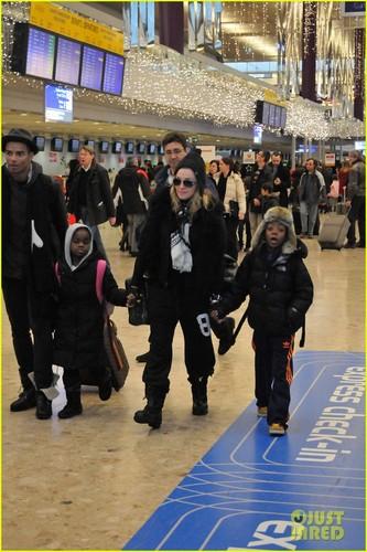 Madonna & Kids: Bye Bye, Switzerland!