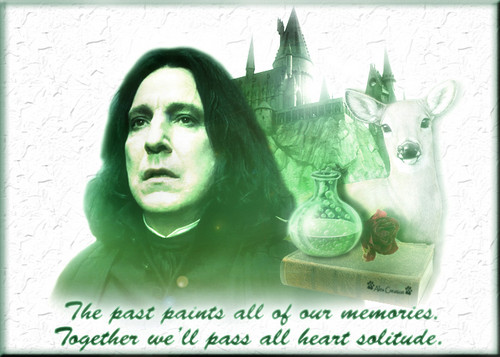 Up Against a Wall - Severus Snape Photo (28947642) - Fanpop
