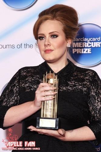 Mercury Prize 2011 Адель