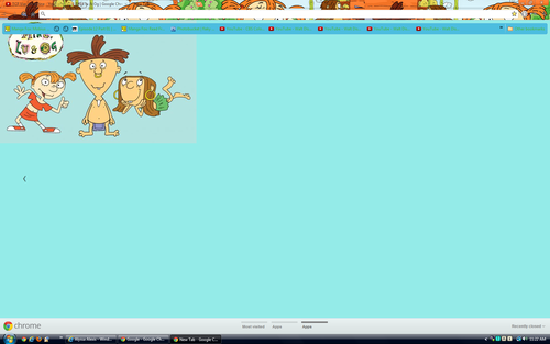 Google Chrome wallpaper titled Mike lu & og Theme