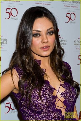 Mila Kunis: St Jude's 50th Anniversary Benefit Gala!