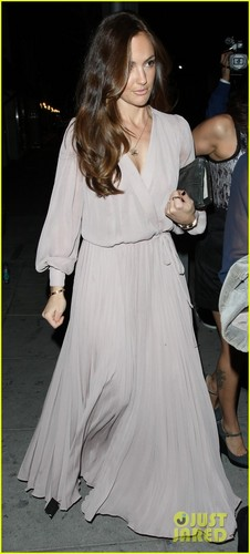 Minka Kelly: Mr. Chow's Night Out!
