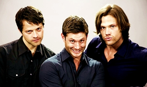 Misha, Jensen & Jared - supernatural Photo