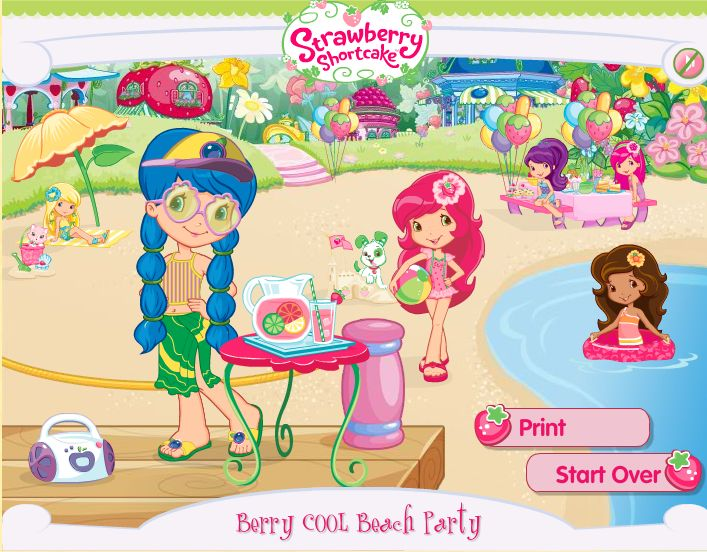 Strawberry Shortcake More sunny fun...