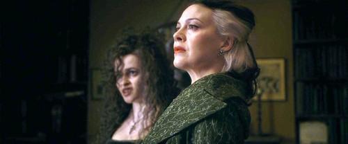 Narcissa Malfoy and Bellatrix Lestrange