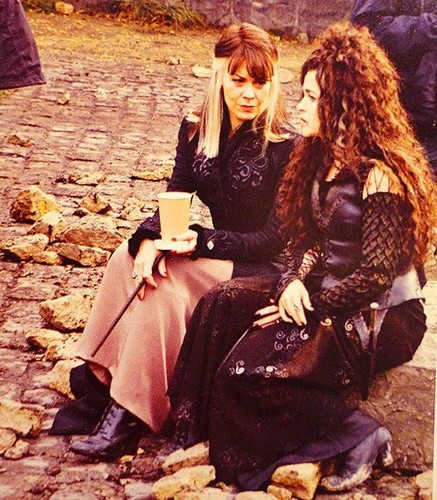 Narcissa Malfoy and Bellatrix Lestrange