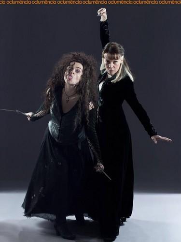 Narcissa and Bellatrix promo pics