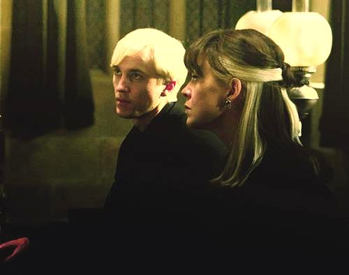 Narcissa and Draco Malfoy