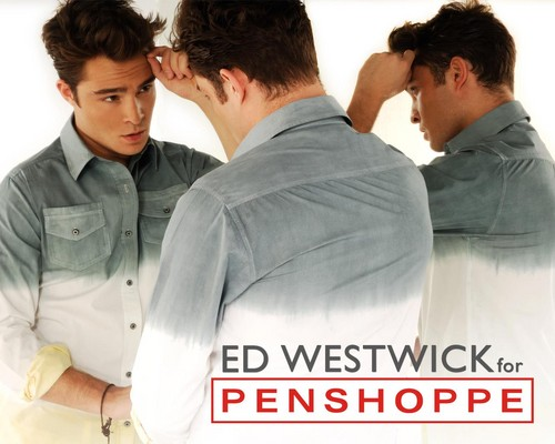 New promotional 照片 of Ed for Penshoppe.