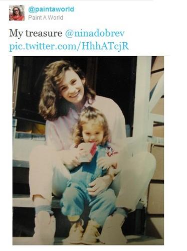 Nina's mama bday tweet 9-1-12