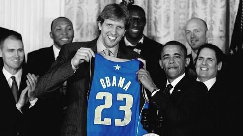 Nowitzki & Obama