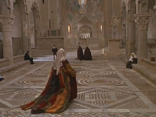 1968 Romeo and Juliet by Franco Zeffirelli wallpaper probably containing a street titled Nurse - R&J 1968 Film