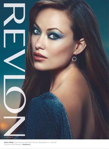 Olivia Wilde- Revlon feb.2012