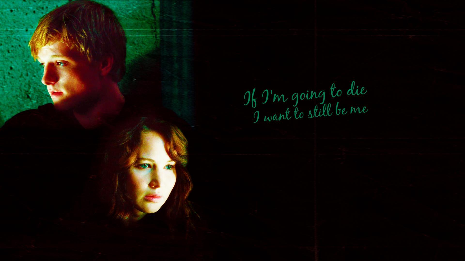 Peeta and Katniss Everdeen