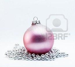 गुलाबी Bauble