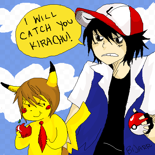 Pokemon meets Death Note