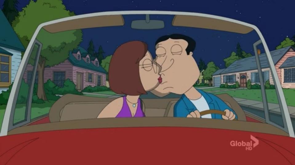 Quagmire and Meg Quagmire And Meg