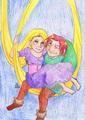 Quasimodo & Rapunzel :D