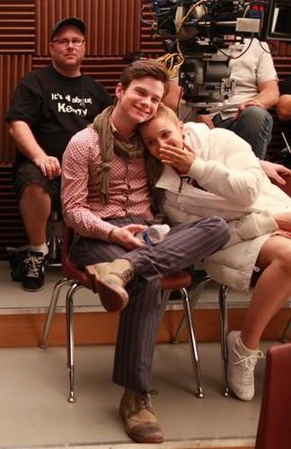Quinn and Kurt बी टी एस