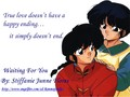 Ranma and Akane ( Waiting for you) _ Posters for a fanfic