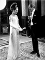 Rex Harrison and Audrey Hepburn in Costume - rex-harrison-as-henry-higgins photo