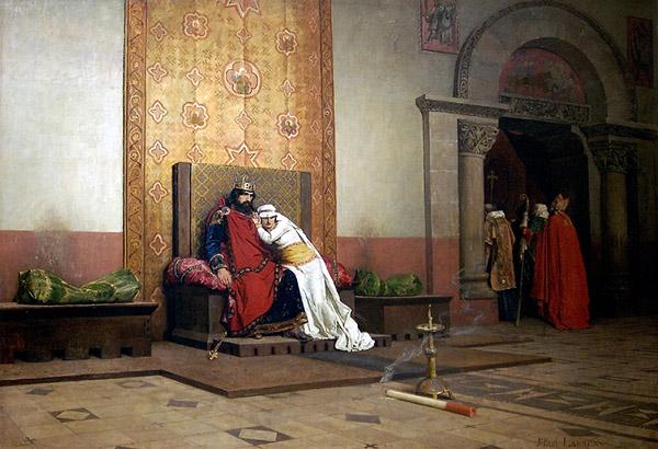 Robert II and Bertha of Burgundy