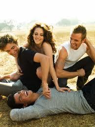 Robert, Kristen & Lautner! <3