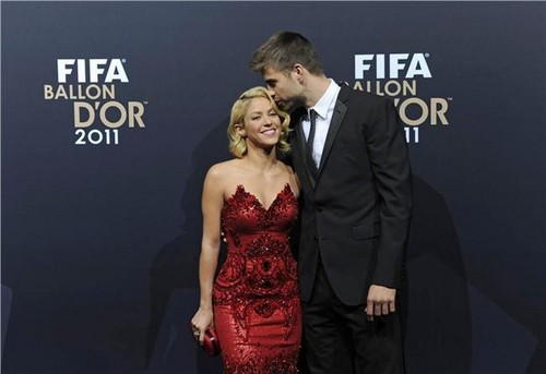 Shakira at Ballon D'or