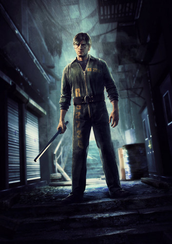 Silent Hill wallpaper possibly containing a concert titled Silent Hill: Downpour Character Art  ■Murphy Pendleton