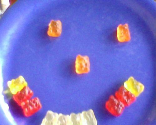 Smiley Face Gummy Bears!