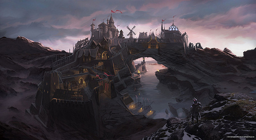 Elder Scrolls V : Skyrim wallpaper called Solitude