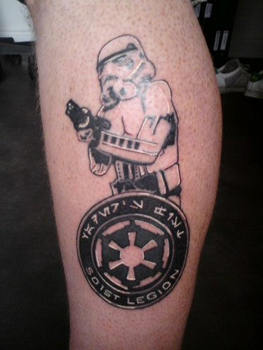 Stormtrooper - tattoos Photo