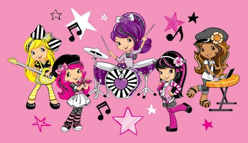 Strawberry Shortcake wallpaper with anime called Strawberry Shortcake and Friends
