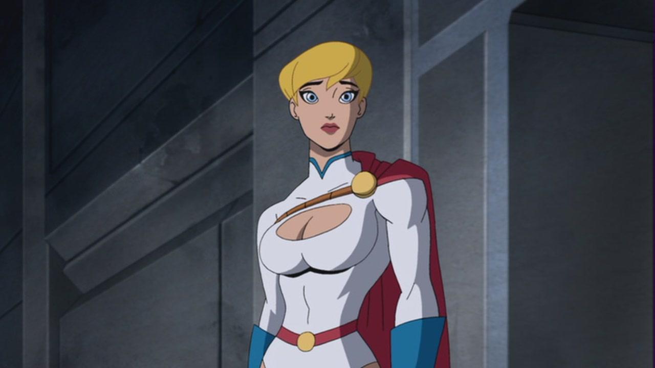 girl Superman batman nude power