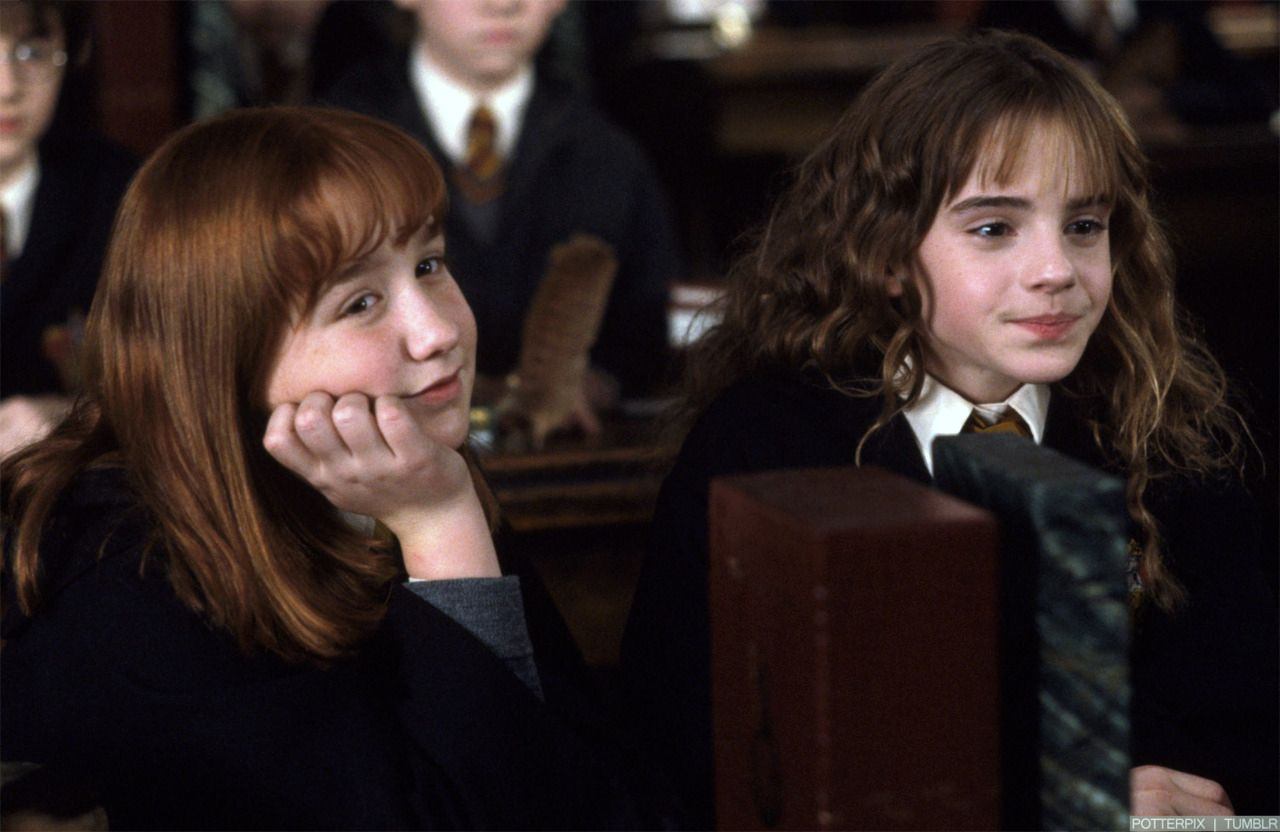 Susan and Hermione