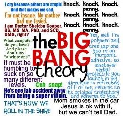 TBBT Funniest frases