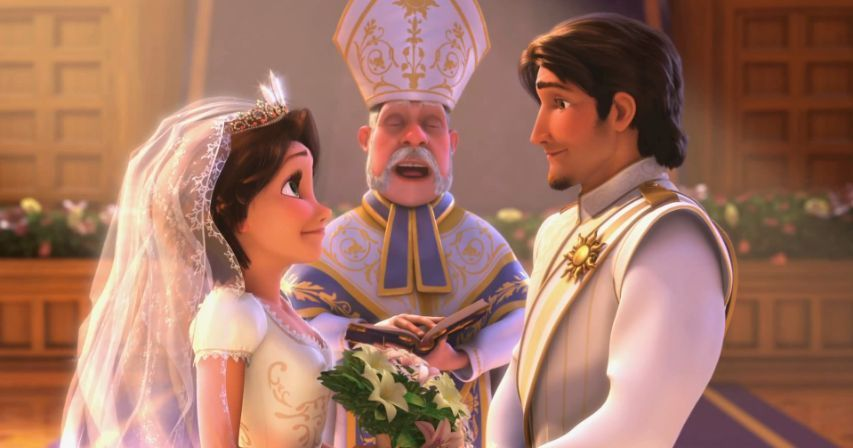Tangled Ever After - Rapunzel and Flynn Photo (28181853 ...