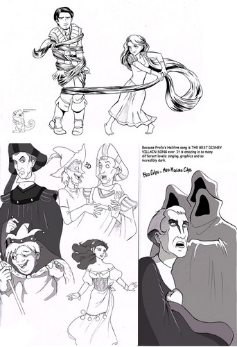 Tangled & HOND crossover pic :D
